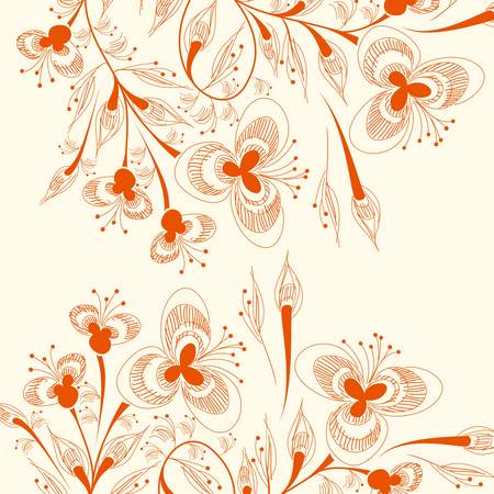 floral background Stock Vector - 16960495