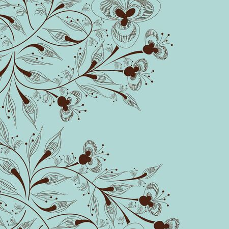 floral background Stock Vector - 17997784