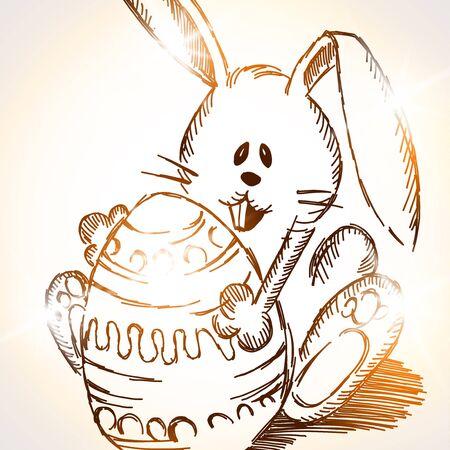 Easter rabbit Stock Vector - 18069692