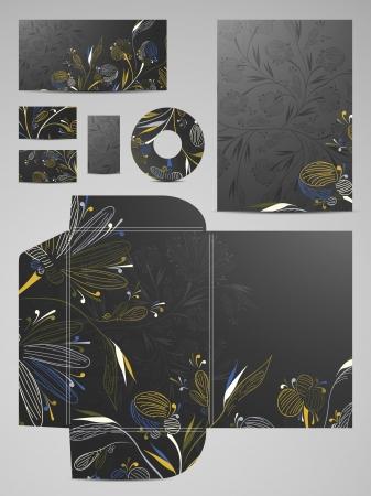 stationery set: stationery set Illustration
