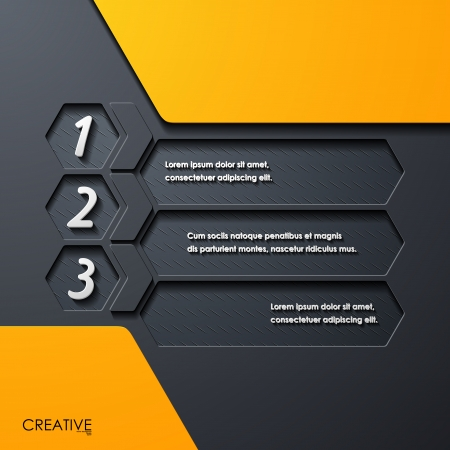 modern infographic, realistic design elements