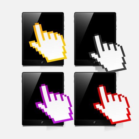 tablet concept Vector