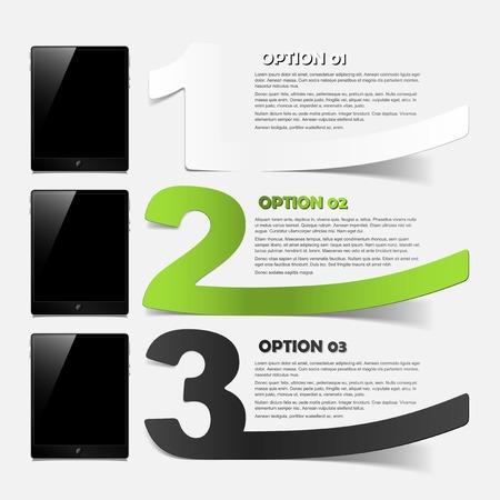 tablet concept: realistic design elements Stock Vector - 25242523
