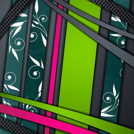 multi layered abstract background Vector