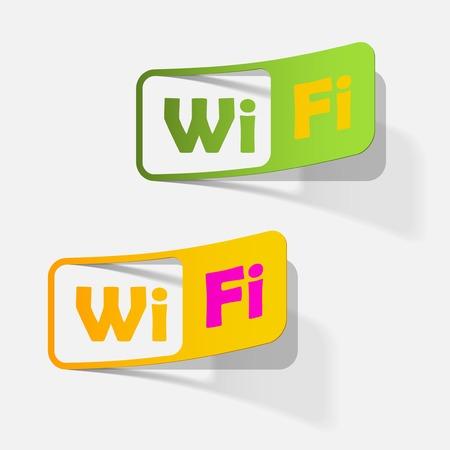 Free Zone wi-fi, sticker