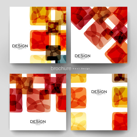 varied: abstract background vector brochure template. Flyer Layout. Creative modern design