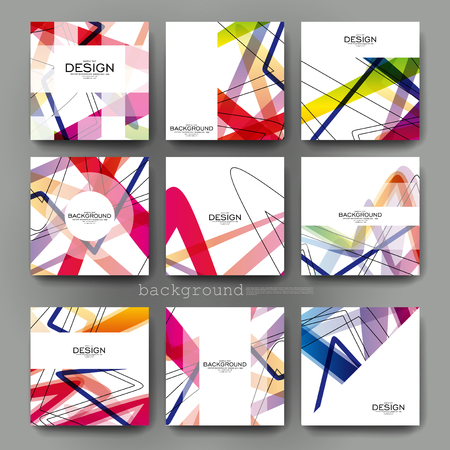 template: abstract background vector brochure template. Flyer Layout. Creative modern design