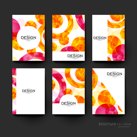 flyer layout: abstract background vector brochure template. Flyer Layout. Creative modern design
