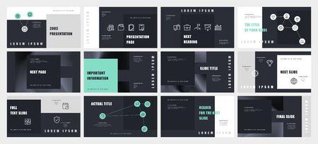 Modello di presentazione design