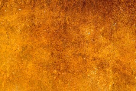 Photo of the texture of rusty painted metal Stock Photo