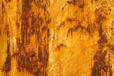 Photo of the texture of rusty painted metal Stock Photo - 845700