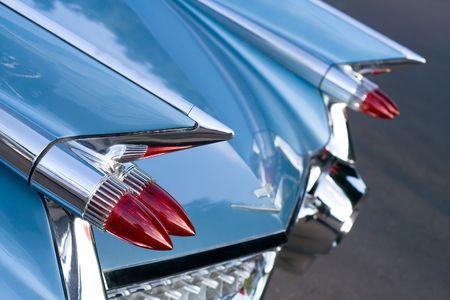 Back of Vintage Car photo