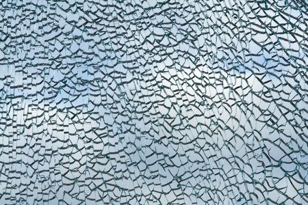 triplex: Abstract background. Broken glass texture Stock Photo