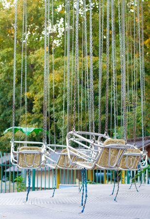 chairoplane: Carousel at an amusement park