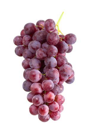 sauternes: Grape cluster isolated on white background