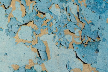 collapsed: Cracked old paint background Stock Photo