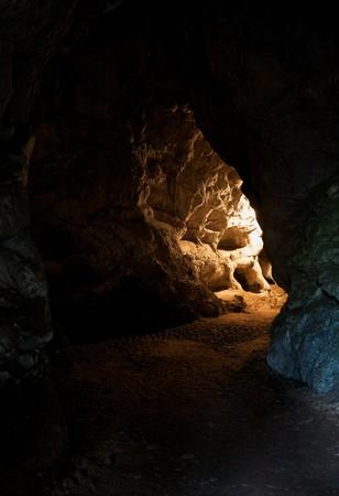 cueva: Metro interior de la cueva