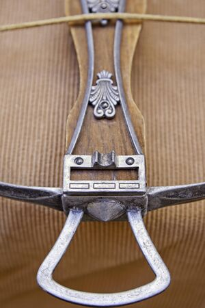 Ancient medieval crossbow, weapon of ancient destruction, war Stock Photo - 16456642