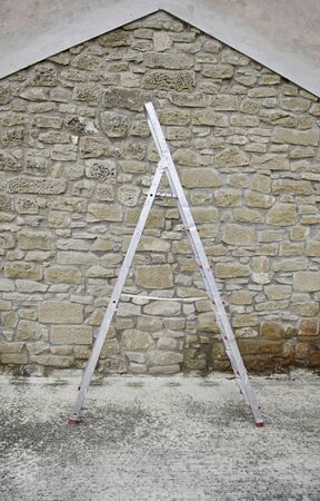 Ladder metal, detail of a work tool Stock Photo - 17352246