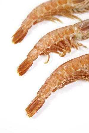 stimuli: Fresh shrimp tails, detail of fresh food, seafood Lijo, healthy living