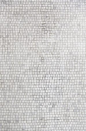 Roman mosaic tiles, detail of ancient wall decorated historic, textured background, ancient art 스톡 콘텐츠