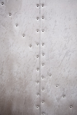Metal wall texture, detail of a wall with rivets metal background with texture Stok Fotoğraf