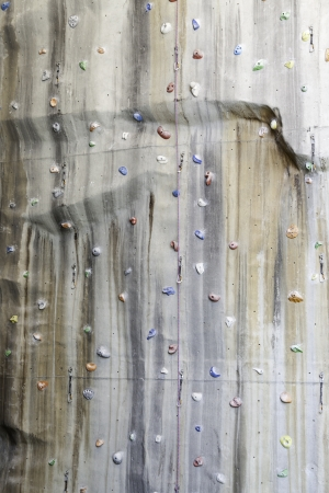 Indoor Climbing, detail of a wall climbing training, sport photo