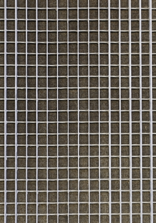Protective metal grille, grille detail of a rusty metal dirty Stock Photo - 21560746