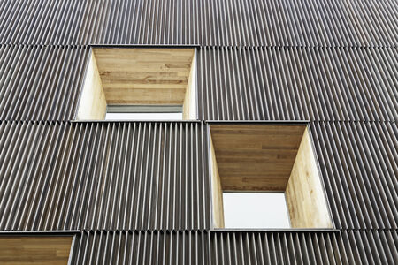 doted: Windows of modern building