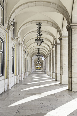 Excerpts from a square of Lisbon, detail of a typical square of Portugal