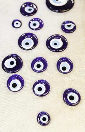 ancient tradition: Tradicional Mal de ojo turco Amuleto, detalle de la antigua tradici�n, la decoraci�n