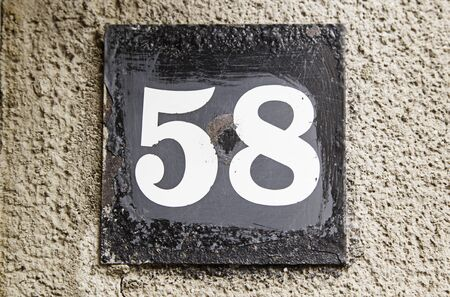 eight year old: Number fifty-eight, detail information number, even number