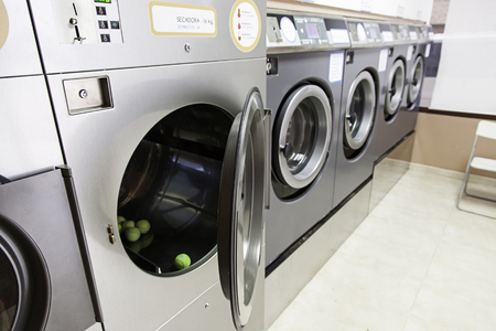 laundrette: Urban Laundry, detail of a facility for washing clothes