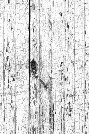 Chipped and old wood, detail of an abandoned wall textured background