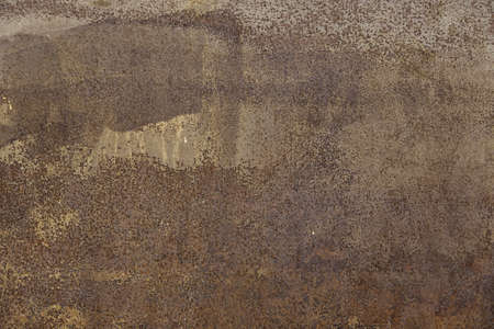 metal textures: Rusty metal wall, detail of a textured background, poor condition Stock Photo