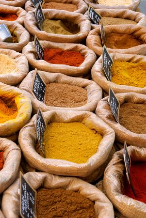 spices to season and flavor food