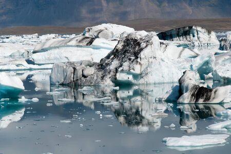 Icebergs on the lake in Iceland Jokulsarlon Stock Photo - 9746197