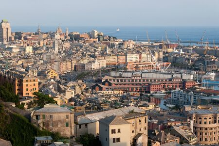port city of Genoa saw the mountains