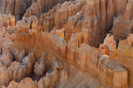 Sunrise in Bryce Canyon National Park in Utah in the United States of America photo
