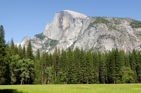 landscape in Yosemite National Park in California in the United States of America photo