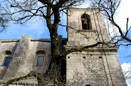 erice: ancient church in Erice to Trapani in Sicily