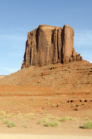 Monolith: monolith in Monument Valley in Utah in the United States of America