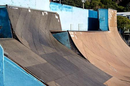pista: pista da skateboard a Genova in Italia