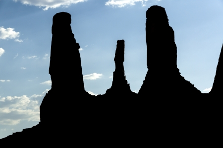 monolith: Monument Valley in Utah in the United States of America
