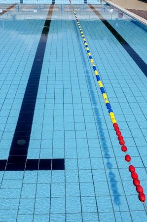 lane olympic size pool stock photo 21683677
