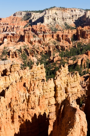 plateau point: Bryce Canyon National Park in Utah in America