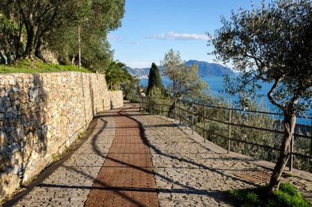walk to Saint Hilary in Genoa