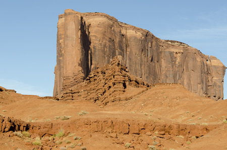 monolith: Monument Valley in Arizona in United States Stock Photo