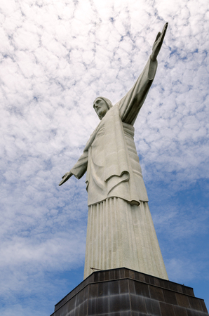 rio: statue of Christ in Rio de Janeiro Editorial