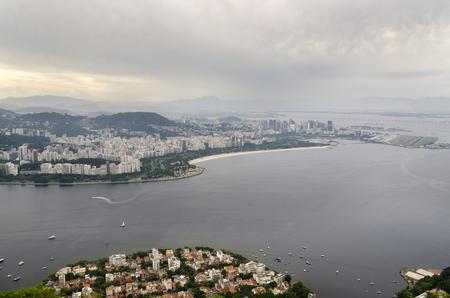 overview of Rio de Janeiro from Pao de Acucar